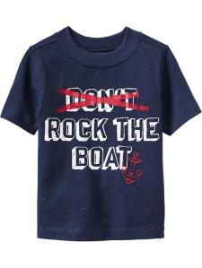 Rock The Boat shirt from Old Navy