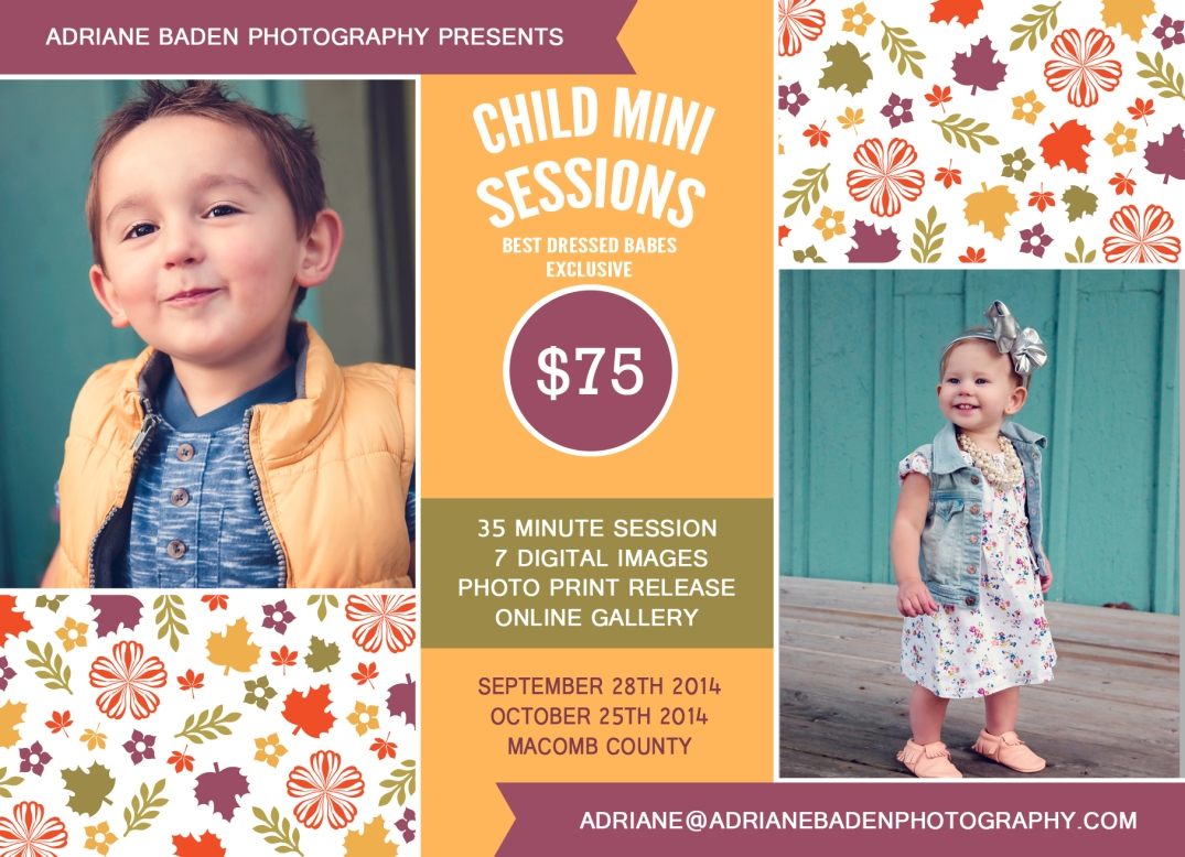 Macomb County Mini Session Photographer